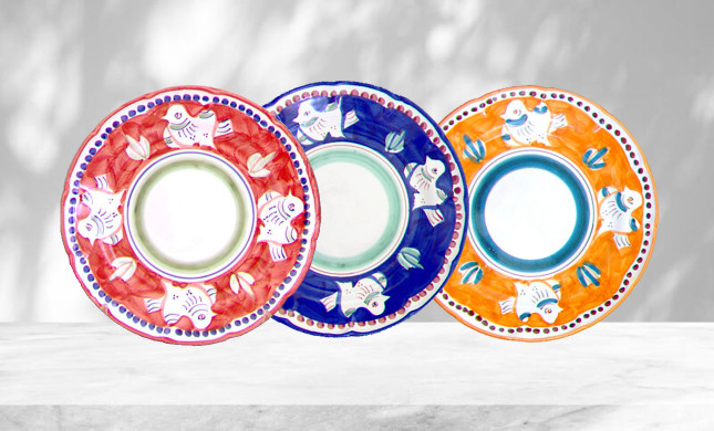 Dinnerware With Doves